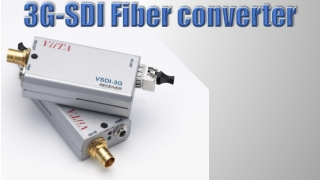 3G-SDI optical media converter